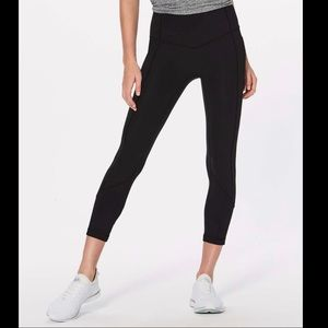 lululemon all the right places crop leggings 12